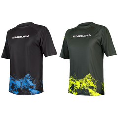 Maglia Endura Singletrack Print T Mountains Limited