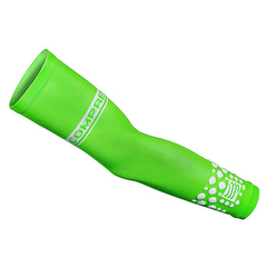 Manicotti Compressport Arm Force Fluo